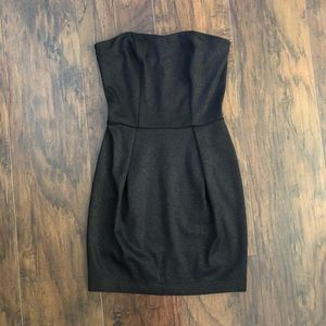 Material Girl BL Metallic Strapless Bodycon Dress